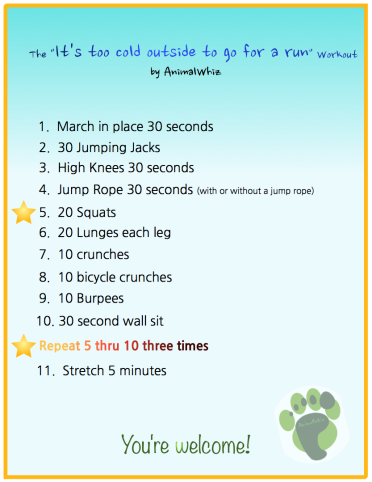 An easy & effective workout to keep you conditioned between runs
