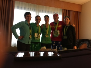 Shamrock Marathon Finishers 2016
